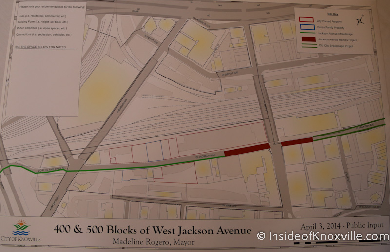 What is the Vision for the Jackson Corridor?