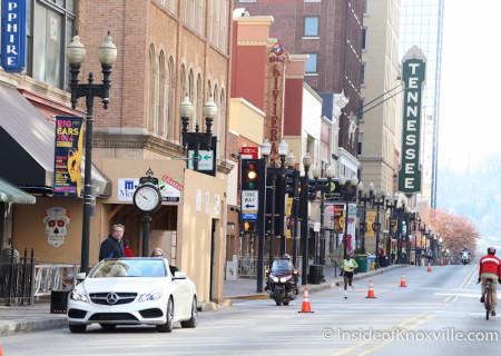 Knoxville Marathon, March 2014