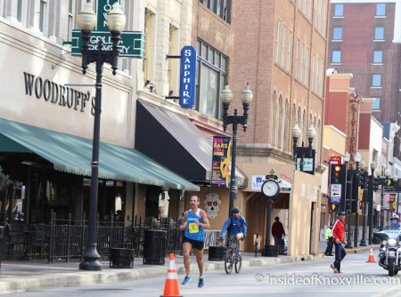 Second Place Finisher, Ethan Coffey of Knoxville, Knoxville Marathon, March 2014
