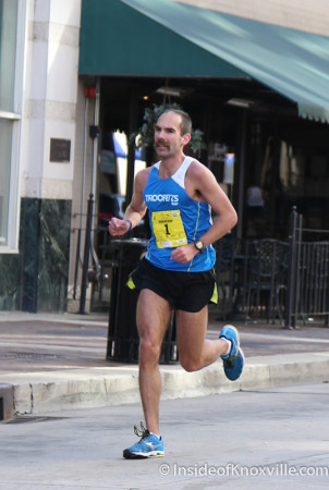 Second Place Finisher, Ethan Coffee of Knoxville, Knoxville Marathon, March 2014