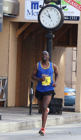 Third Place Finisher, Abraham Kogo, Knoxville Marathon, March 2014