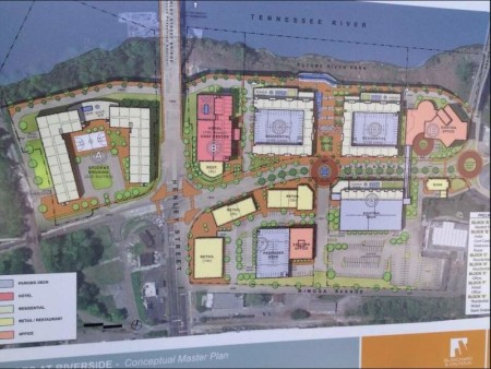 Rendering of proposed Baptist Hospital Site Redevelopment (via WATE