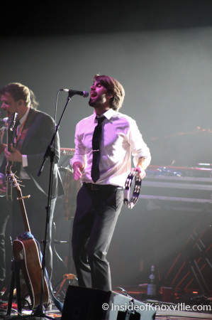 The Dirty Guv'nahs, Thompson Boling Arena, Knoxville, April 2014