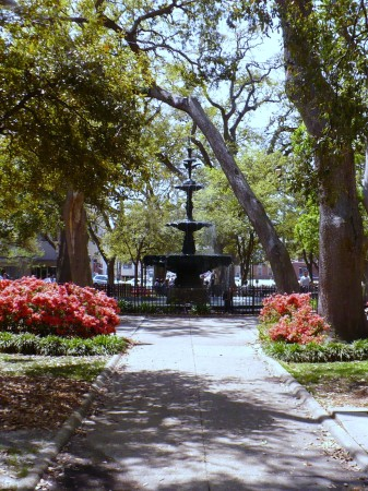 Bienville Square, Mobile, Alabama (photo from Wikipedia)