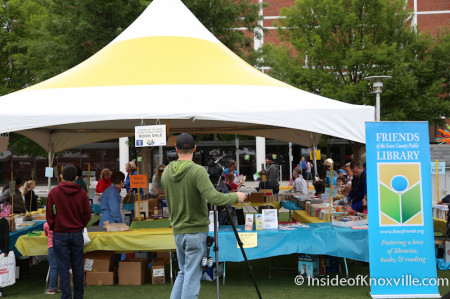 Children's Festival of Reading, Knoxville, May 2014