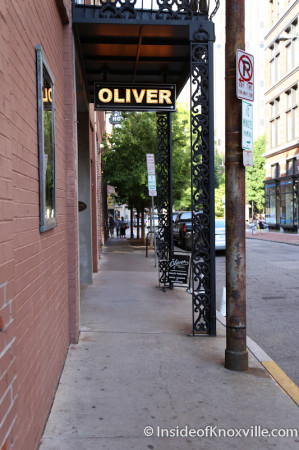 Oliver Hotel, Knoxville, May 2014