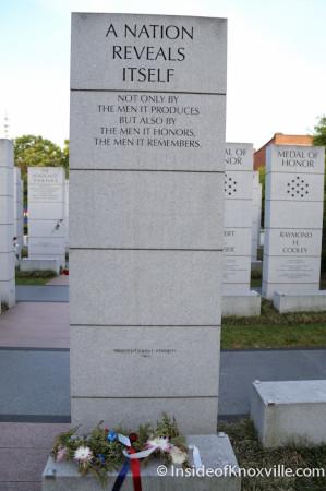 East Tennessee Veteran's Memorial, Memorial Day, Knoxville, 2014