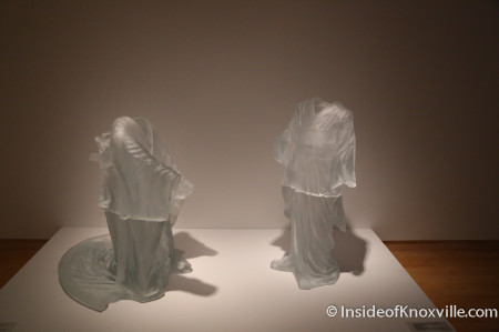 Facets of Modern and Contemporary Glass Exhibition, Knoxville Museum of Art, May 2014