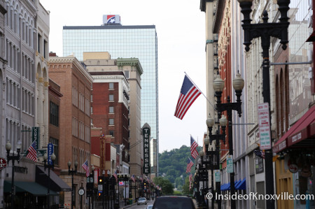 Gay Street, Memorial Day, Knoxville, 2014
