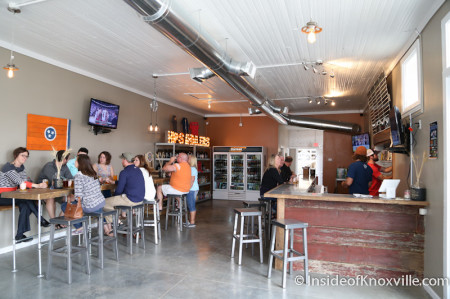 Hops and Hollers, 937 N. Central, Knoxville, May 2014