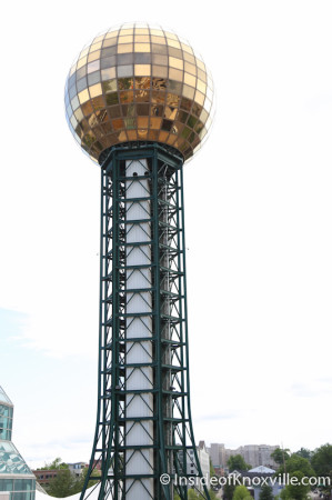 Sunsphere, Knoxville, May 2014