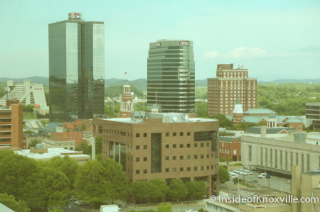 View from the Sunsphere, Knoxville, May 2014