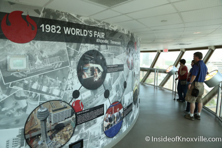 World's Fair Information, Sunsphere, Knoxville, May 2014