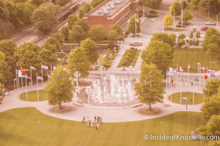 A Wedding in World's Fair Park, Knoxville, May 2014