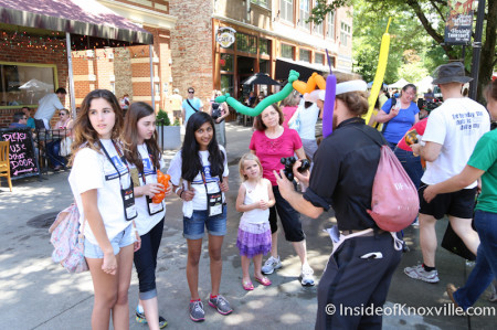 Destination Imagination Children in Town, Knoxville, May 2014