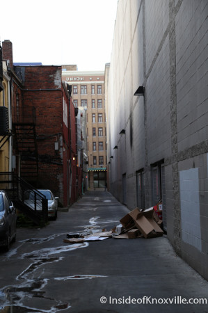 Urban Alley, Knoxville, May 2014