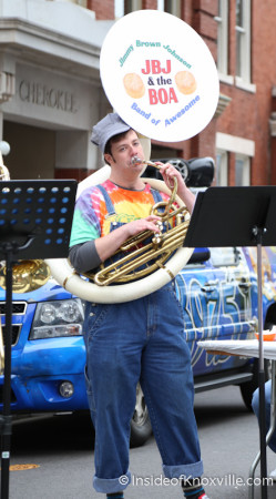 Jimmy Brown Johnson and the Band of Awesome, International Biscuit Festival, Knoxville, May 2014