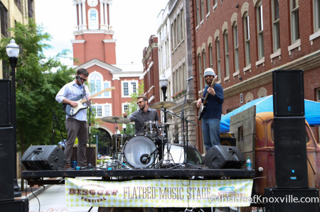 Get Right Band, International Biscuit Festival, Knoxville, May 2014