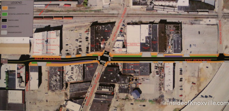Jackson Avenue Streetscape Plans, Knoxville, May 2014