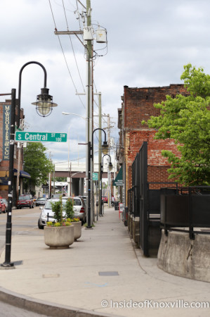 Jackson Avenue Sidewalk, Knoxville, May 2014