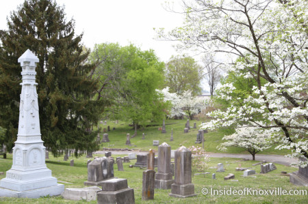 Old Gray Cemetery, Knoxville in the Spring, 2014
