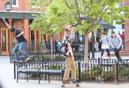 Skaters, Knoxville in the Spring, 2014