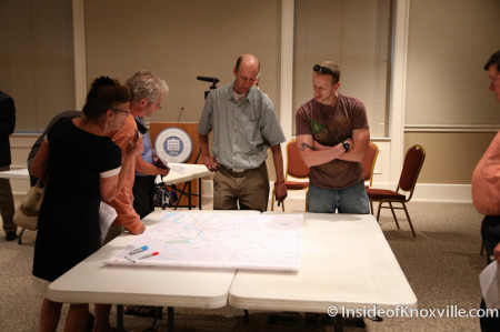 Public Comment Session for the Bicycle Facility Plan, East Tennessee History Center, Knoxville, May 2014