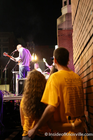 Rusty and Lauren, Blankfest, Knoxville, May 2014