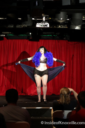 Salome Caberet, Latitude 35, Blankfest, Knoxville, May 2014