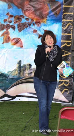 Shelley Pearsall, Children's Festival of Reading, Knoxville, May 2014