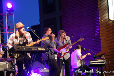 Sol Cat, Market Sqaure Stage, Blankfest, Knoxville, May 2014