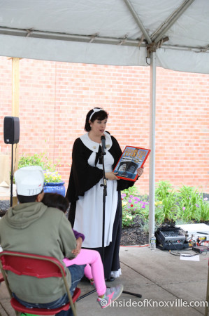 Titanic First Maid, Children's Festival of Reading, Knoxville, May 2014