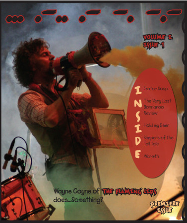 First Cover of Blank Newspaper, August 2007