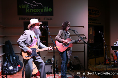 Amelia White with Sergio Webb, Tennessee Shines, Knoxville, 2014