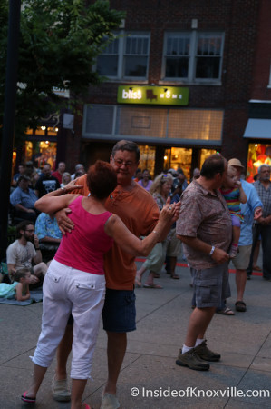 Crowd Shots, Bob Dylan Bash, Market Square, Knoxville, June 2014