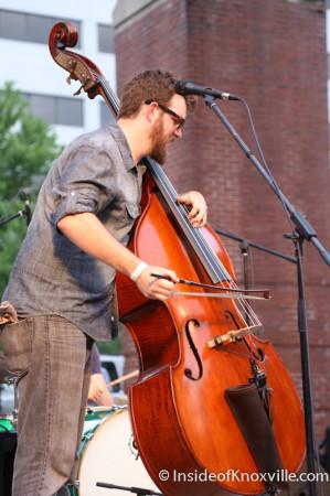 Daniel Kimbro, Bob Dylan Bash, Market Square, Knoxville, June 20