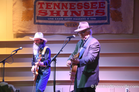 David Olney with Sergio Webb, Tennessee Shines, Knoxville, 2014