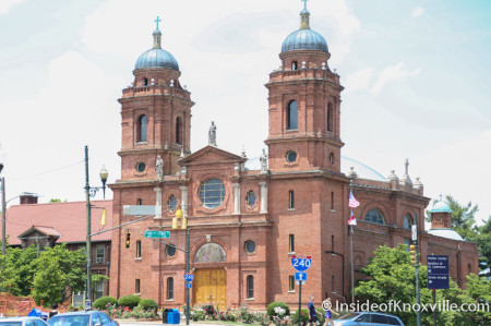 Basilica of St. Lawrence, Downtown Asheville, June 2014