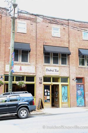 Dobra Tea, Downtown Asheville, June 2014