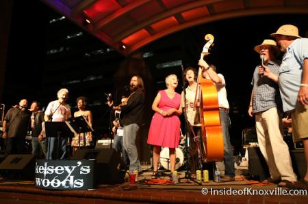 Finale, Bob Dylan Bash, Market Square, Knoxville, June 2014