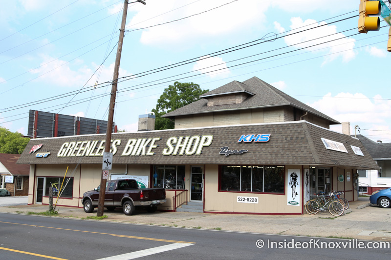 Greenlee's Bike Shop: Knoxville's Oldest