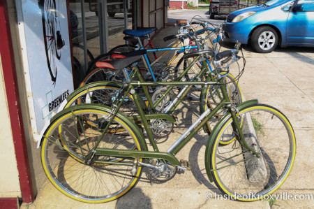 Greenlee's Bike Shop, 1402 North Broadway, Knoxville, June 2014
