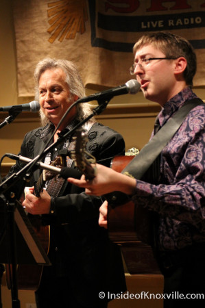 Jim Lauderdale and Alex Leach, Tennessee Shines, Knoxville, 2014
