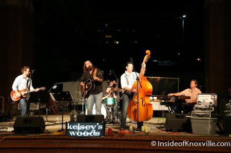 Kelsey's Woods, Bob Dylan Bash, Market Square, Knoxville, June 2014