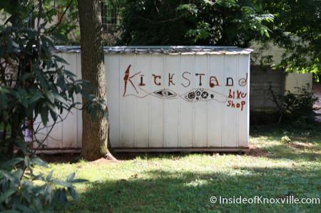 Kickstand, 1323 North Broadway, Knoxville, June 2014
