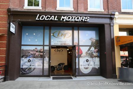 Local Motors, 11 Market Square, Knoxville, June 2014
