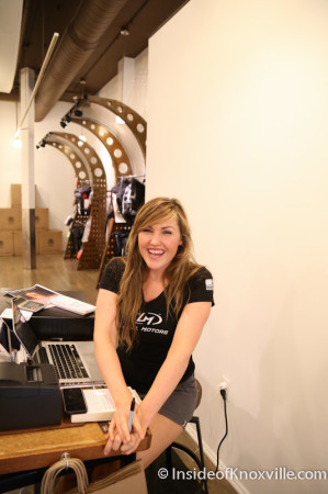 Jenna Burns, Local Motors, 11 Market Square, Knoxville, June 2014