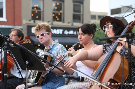 Norwegian Wood, Bob Dylan Bash, Market Square, Knoxville, June 2014