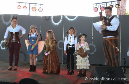 Children's Costume Contestants, Steampunk Carnivale 2014, Knoxville
