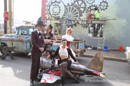 Flying Gatling Gun, Steampunk Carnivale 2014, Knoxville